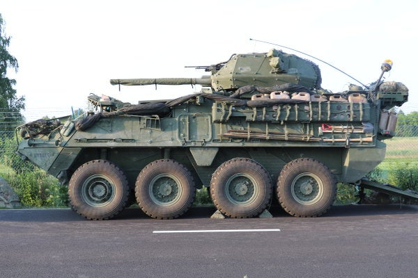 The Army's upgunned Strykers have some serious firepower — and one critical weakness