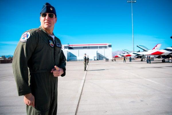 The fallen Thunderbird pilot who helped 'Captain Marvel' soar
