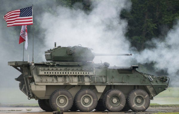 The Army is eyeing the Stryker's new 30mm autocannon for a combat vehicle near you