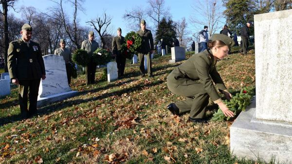 Wreaths Across America: A Special Honor For 6 Civil War Soldiers