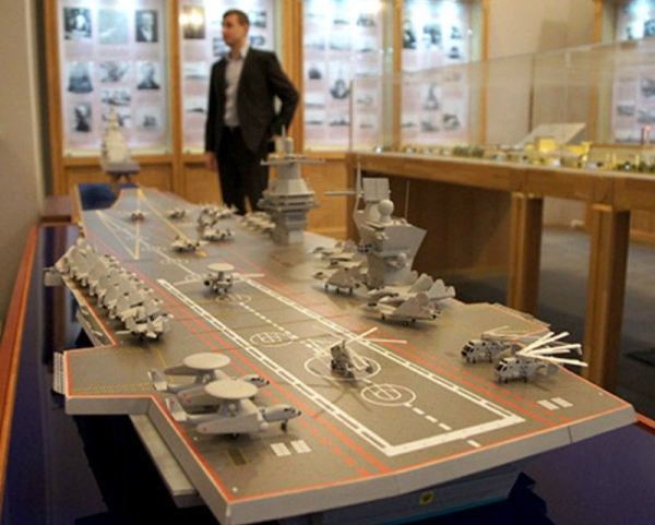 Russia's New Supercarrier Is A Total Pipe Dream