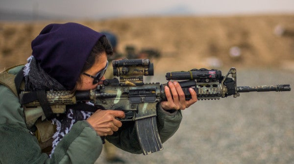Watch Afghan Special Forces' All-Female Platoon Train To Kick Ass And Take Names
