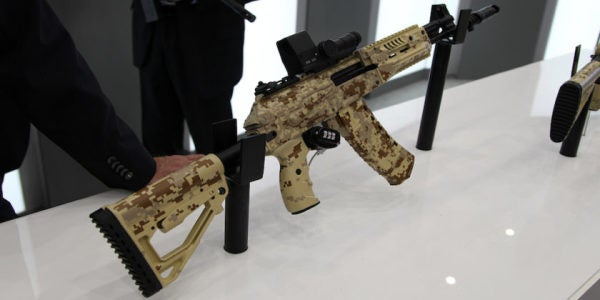 The Russian Military's New Kalashnikov Assault Rifle Just Passed Its Field Tests