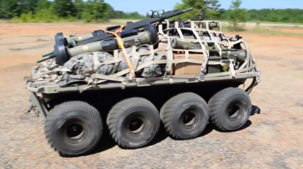 The Army's new robot mule is here to haul all your bullsh*t for you
