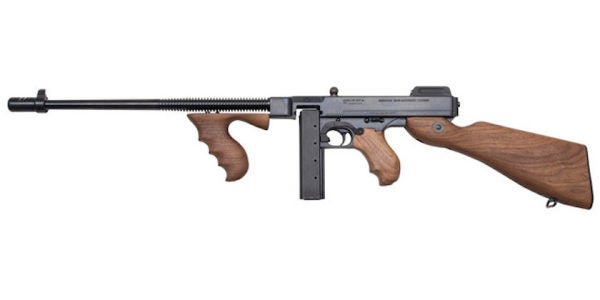 You Can Now Own A Top-Shelf Tommy Gun Chambered In 9mm