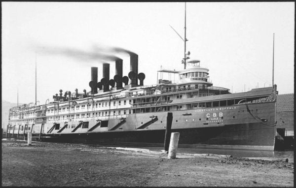 9 Photos Of The WWII Aircraft Carrier That Used To Be A Luxury Steamer