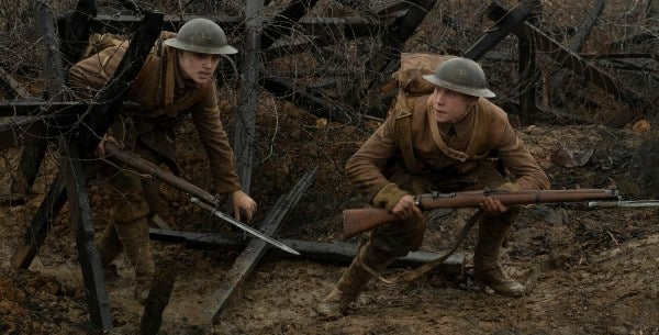 '1917' is the absolute best war movie in years