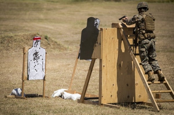 Marines Show How To Dominate At 3-Gun Shooting