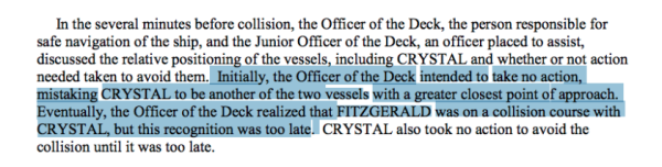 Here's Exactly What Went Wrong In the Final Moments Before The Fitzgerald And McCain Collisions