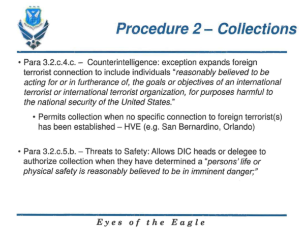 One Awful PowerPoint Slide Accidentally Authorized The Air Force To Surveil US Citizens Without Warrants