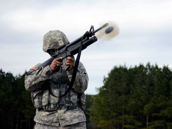 A History Of 'Bloopers': Rifle Grenades, 'Thumpers,' And Underslung Launchers
