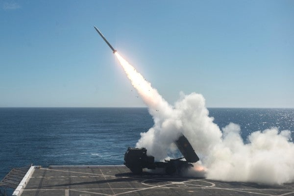 The Marines' next warfighting experiment: slapping targets with rockets from the sea