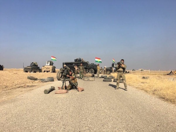 American JTACs Return To Mosul. This Time To Crush ISIS