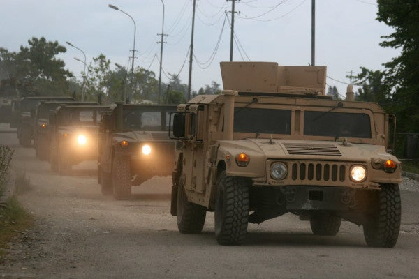 That Time The Russian Military Stole A Bunch Of US Marine Corps Humvees