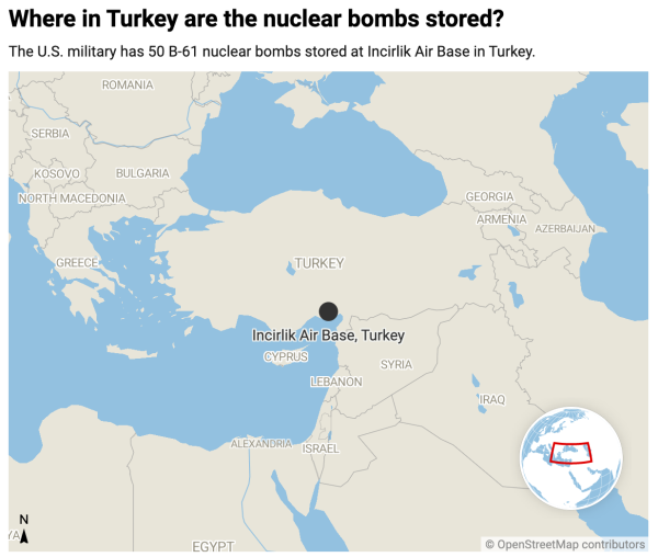 Why the US has nukes in Turkey — and why it's so hard to remove them