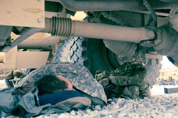 7 Sleeping Positions Every Service Member Eventually Masters