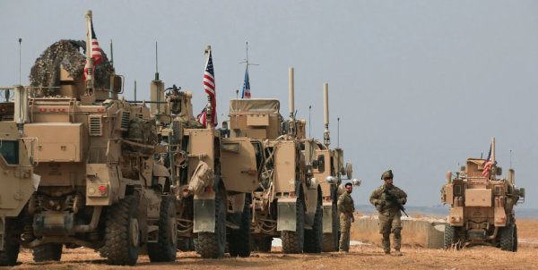 US troops withdrawing to Iraq from Syria can't redeploy there and have to leave in 4 weeks, Baghdad says
