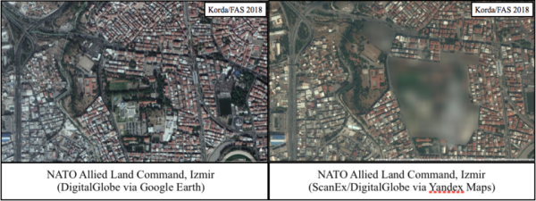 Russian Mapping Service Reveals Secretive Military Bases Across The Middle East