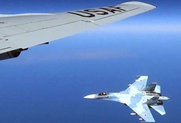 A Russian Fighter Jet Sent A US Recon Plane Through 'Violent Turbulence' With Its Afterburners