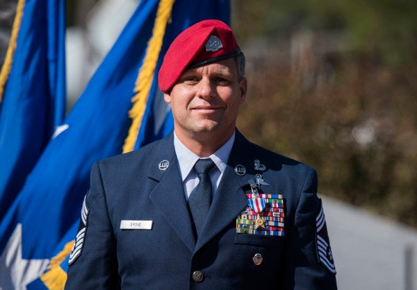 Air Force Special Tactics Chief awarded Silver Star for raining hell on the enemy in Afghanistan