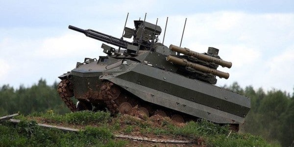 Russia's Robot Tank Sucks, But Its Military Is Adopting It Anyway