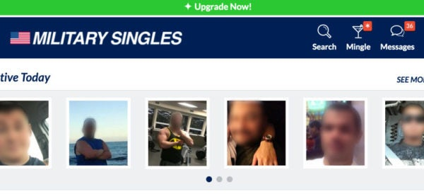 I Spent A Month Looking For Love On Military Dating Sites