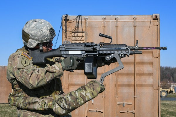 SOCOM is working on a mechanical 'third arm' that may tout a drone-killing weapon system