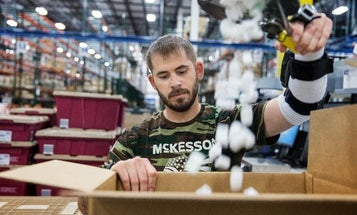 McKesson is looking to hire veterans now
