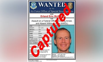 Texas airman who allegedly assaulted military police captured after two-week manhunt