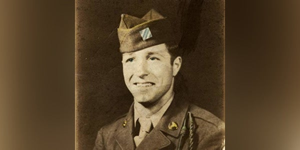 This WWII medic treated grunts even after taking shrapnel wounds. Now he's finally getting a Purple Heart