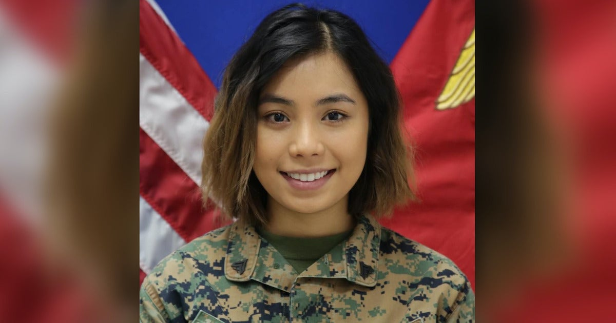 The Marine Corps is charging her with attempted murder. Her family says she's suffering from PTSD