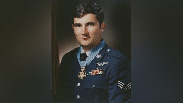 52 years ago, this airman threw himself on a burning flare to save his crew