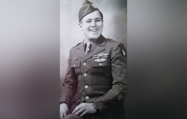 This WWII vet got a mohawk the night before D-Day. Now he's doing it again to spread cheer during COVID-19