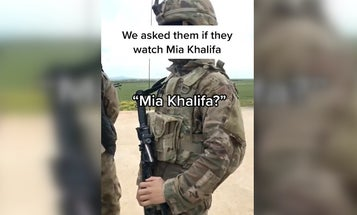 TikTok video shows US troops hunting for a porn star in Syria