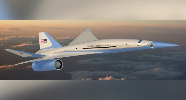 The Air Force just awarded a contract to develop a supersonic Air Force One
