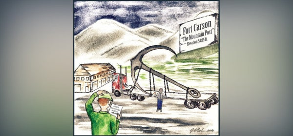 That time an Army supply clerk accidentally ordered a $28,000 anchor at Fort Carson