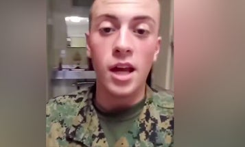 Meet the (probably soon to be former) Marine who just dropped a not-so-hot racist track on Instagram