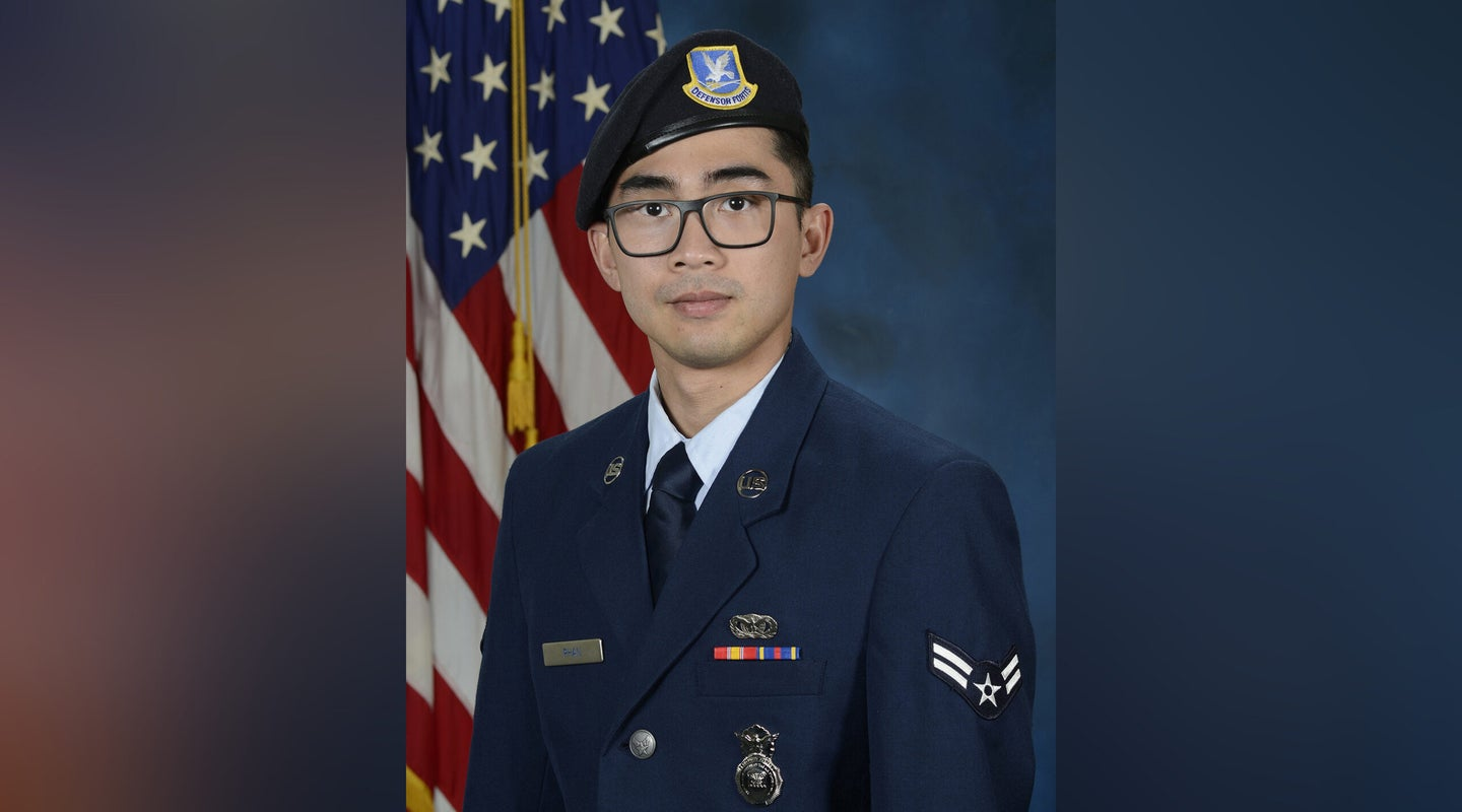 'Shy, sweet and intelligent' — Airman killed in Kuwait crash laid to rest