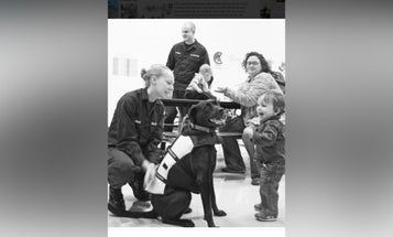 Beloved Coast Guard dog Onyx passes away after 13.5 years of being a very good girl