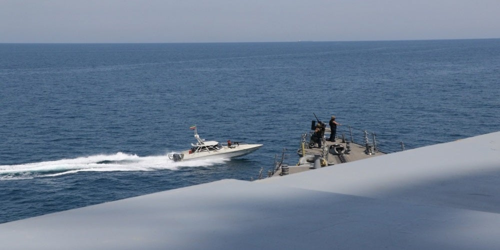 Iran is back to harassing US ships in the Persian Gulf