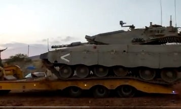 Israeli tank flips over in possible first-ever IDF WTF Moment
