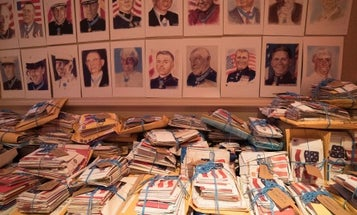 Send a personalized letter to an American hero through the Medal of Honor Mail Call