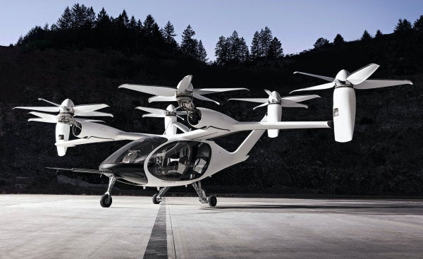 The Air Force's flying car competition is officially here