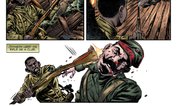 Legendary Harlem Hellfighter and MoH recipient Henry Johnson has a graphic novel detailing his service during WWI
