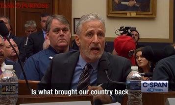 Jon Stewart chews out Congress for failing 9/11 first responders