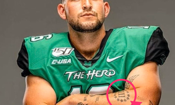 NFL draftee claims he thought far-right 'Three Percenters' tattoo was a US military symbol
