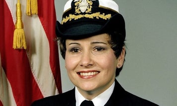 The trailblazing Navy captain who helped win the right for women to serve at sea has died