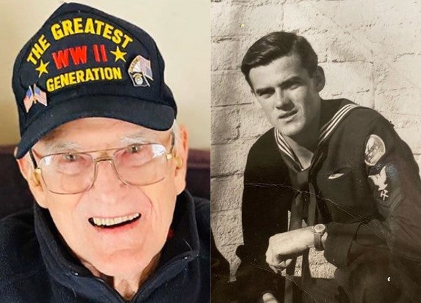 'I survived the foxholes of Guam, I can get through this coronavirus bullsh*t,' says 95-year-old vet who battled COVID-19 and won