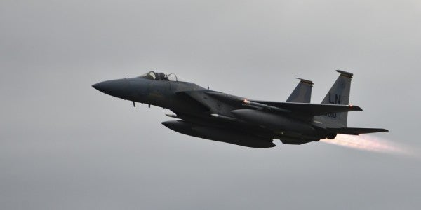 F-15C pilot from RAF Lakenheath killed in crash