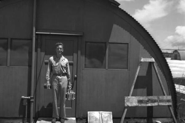 Meet the only man to witness all three atomic blasts of World War II